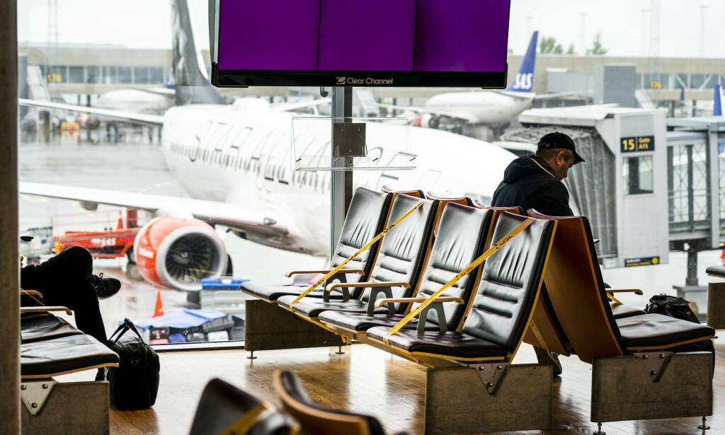 TOMT: Gardermoen flyplass en lørdag i juni. Foto: Gorm Kallestad / NTB scanpix