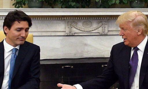 image: Trudeau avviser Trump
