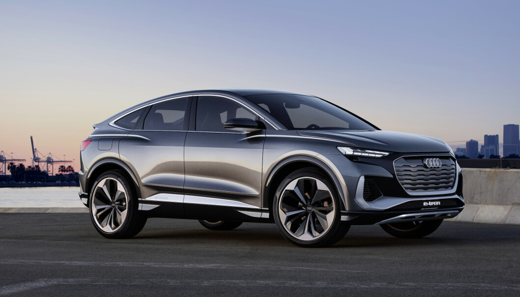 SUV ELLER COUPÉ: Antagelig er Crossover et riktigere navn. Foto: Audi