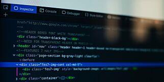 image: Layout på én linje med CSS
