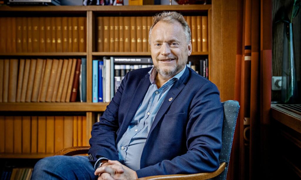 VIL HA FLERE INN I ARBEIDSLIVET: Byrådsleder i Oslo, Raymond Johansen (Arbeiderpartiet).  Foto: Jørn H Moen