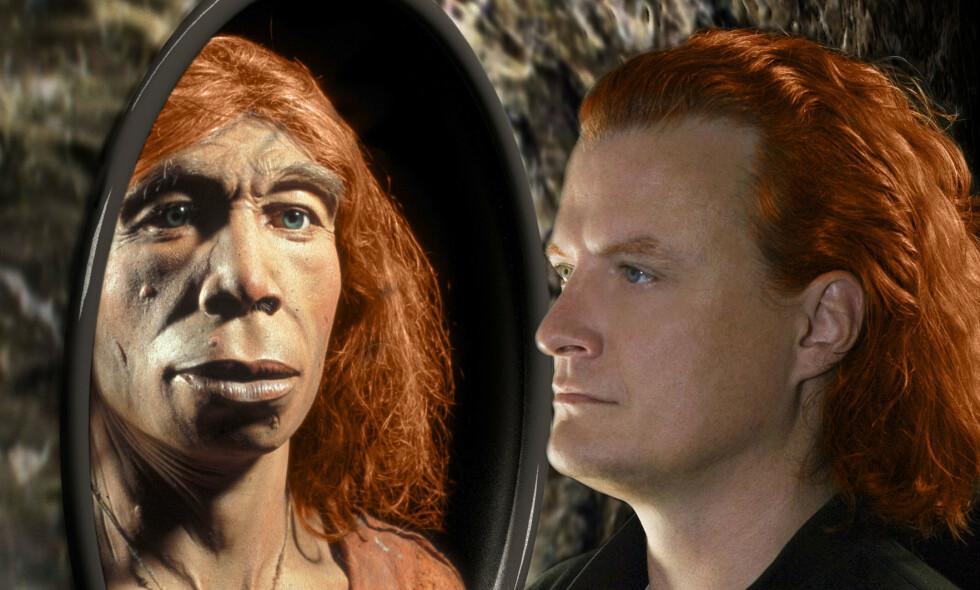 NEANDERTAL-GENER: Personer med arvemateriale fra neandertalerne kan bli sykere av covid-19, mener en forskningsgruppe. Foto: AFP/ NTB scanpix
