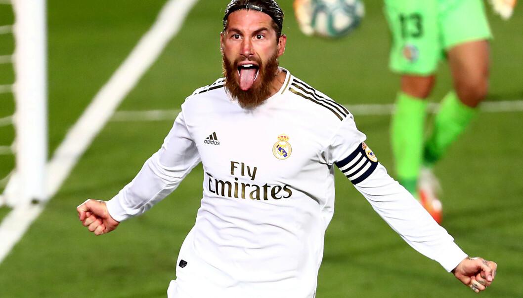 NEDTUR: For Sergio Ramos og fotball-Europa. Foto: NTB Scanpix