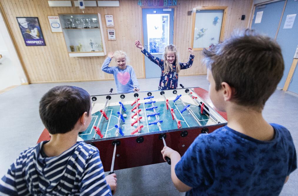 RIMELIGERE: Fra august innføres redusert foreldrebetaling i SFO for 1.-2- trinn. Foto: Gorm Kallestad / NTB scanpix