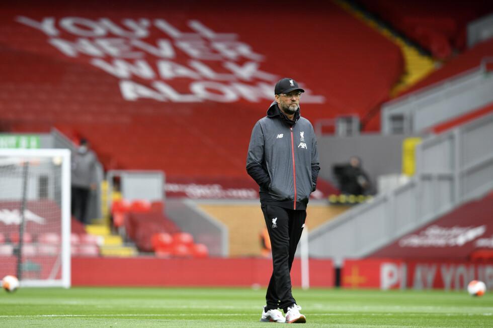 KORTREIST SUKSESS: Liverpools suksessmanager Jürgen Klopp drømmer om å få frem enda flere lokale gutter på laget sitt. Foto: NTB scanpix