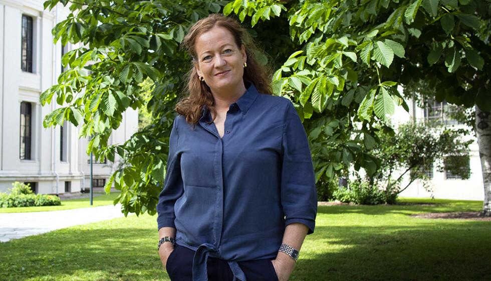 FAMILEKAOS I INNSPURTEN: Forfatter Heidi Linde er ute med ny bok. Skriveinnspurten ble ikke som planlagt. Foto: Heidi Spanthus