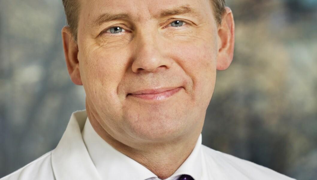 PROFESSOR: Studie om åreforkalkning overrasker Carl Johan Östgren, professor i allmennmedisin. Foto: Privat.