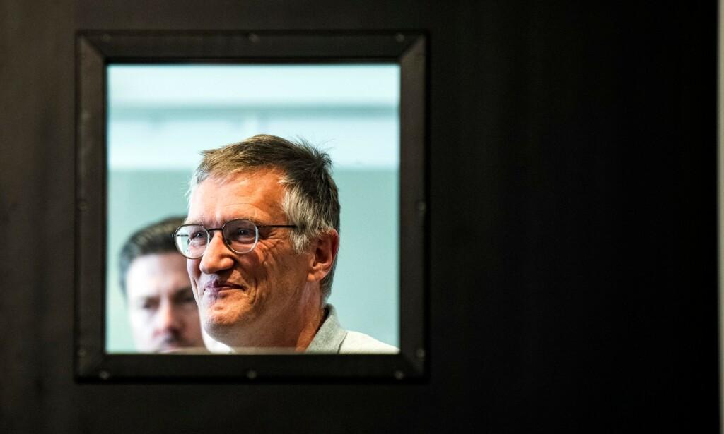 TEGNELL: Sveriges statsepidemiolog Anders Tegnell har særlig blitt knyttet til teorien om flokkimmunitet mot Covid-19. Foto: Jonathan Nackstrand / AFP / NTB Scanpix