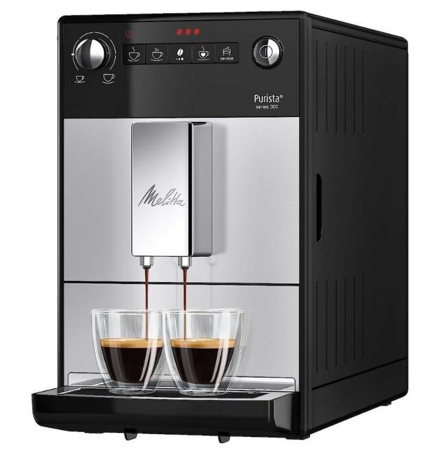 HELAUTOMATISK: Trakt kaffe mens alle sover - ekstremt stillegående.