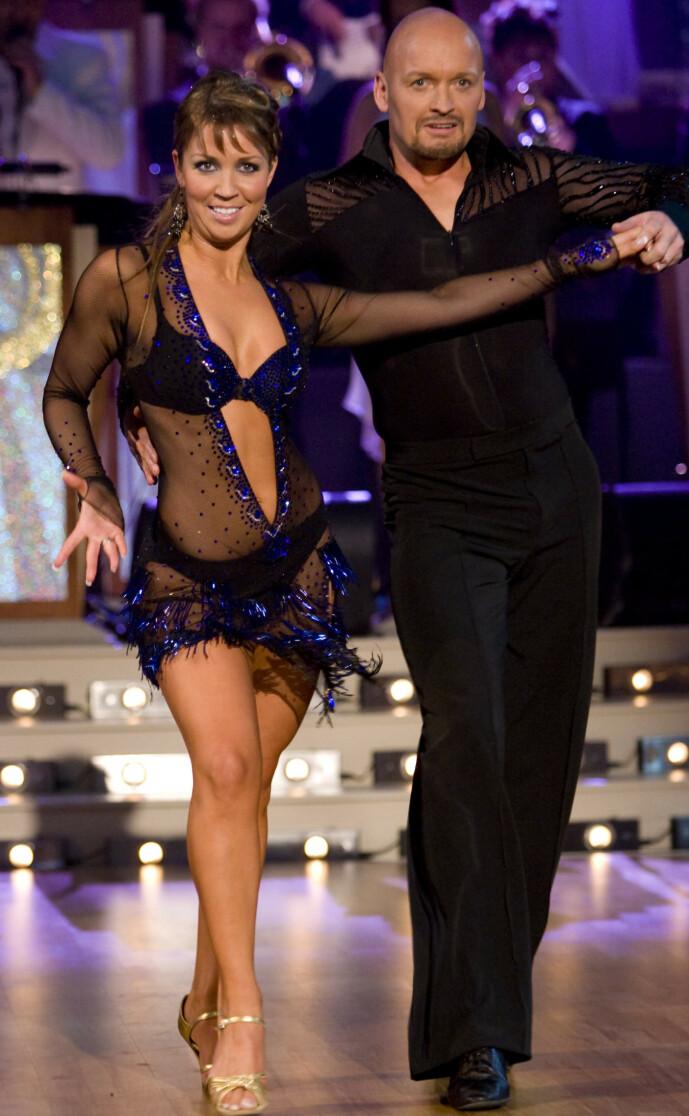 <strong>I SORG:</strong> Therese Cleve danset med Finn Christian Jagge i 2007. Hun forteller til Se og Hør at dødsfallet kommer som et sjokk. Foto: Werner Juvik/ Se og Hør
