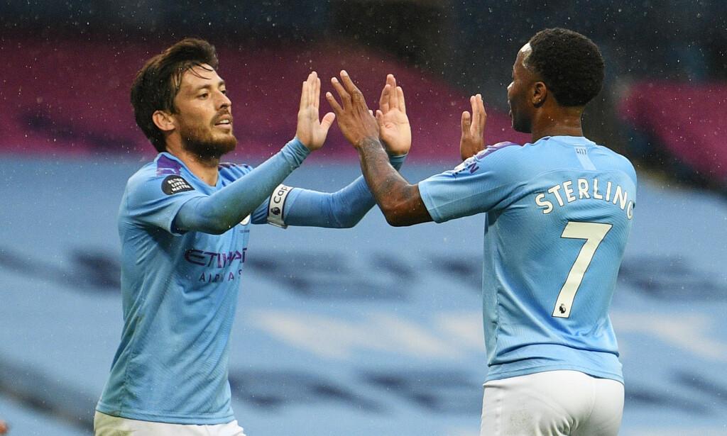 HERJET: Manchester City hadde full kontroll da de slo Newcastle 5-0. Foto: Oli Scarff / Pool via REUTERS / NTB Scanpix