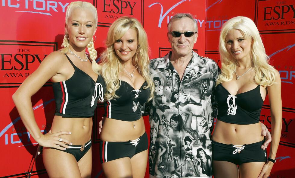 NY VENDING: Kendra Wilkinson, Bridget Marquardt og Holly Madison var alle med i «Playboyjentene». Nå har førstnevnte gått en helt annen vei. Foto: NTB Scanpix