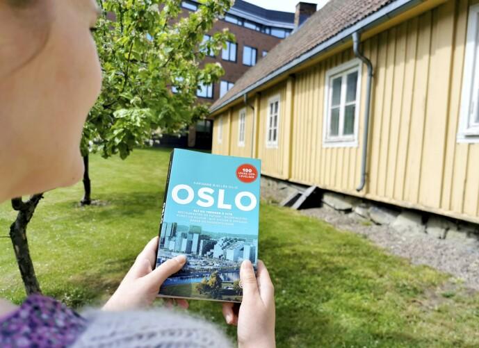 BYVANDLING: Få tak i nærmeste gratis turistkart og gå på sightseeing i en av Norges byer. FOTO: Mari Beraksten