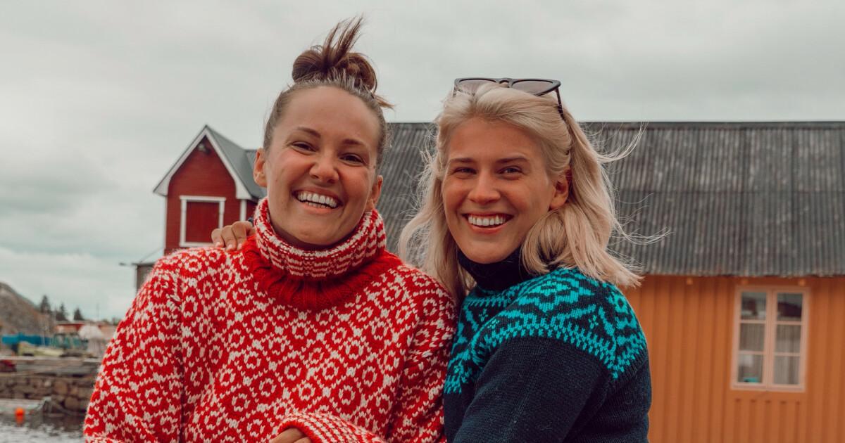 Camilla Lorentzen og Julie Visnes