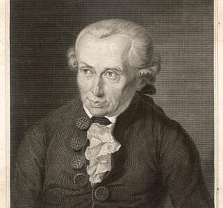 INNFLYTELSESRIK: Immanuel Kant (1724-1804) regnes som en av opplysningstidens viktigste filosofer, og har voldet hodebry for mange ex.phil-studenter. Foto: Historia / REX / NTB scanpix