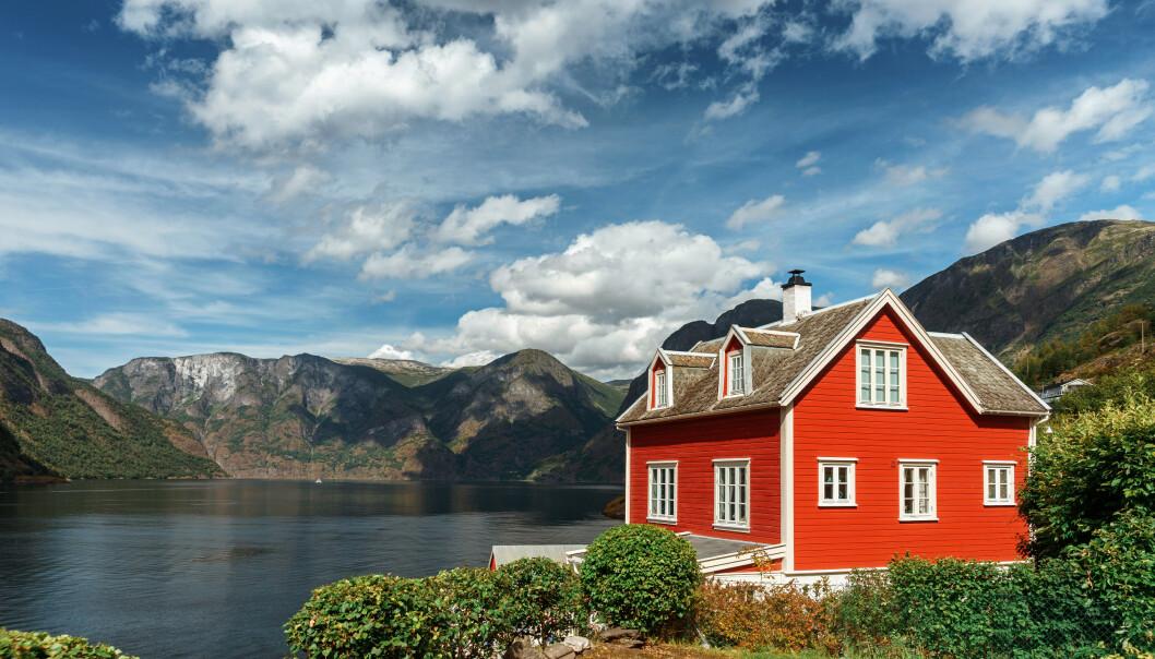 POSTKORT: Husbytte gjøres over hele landet, fra nord til sør. FOTO: NTBscanpix