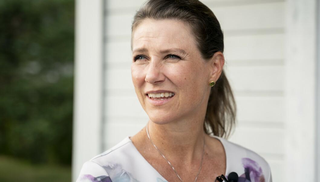 ÅPNER OPP: Prinsesse Märtha Louise forteller åpenhjertig om sin skamfølelse i en episode av den svenske podkasten «Fremgångspodden». Foto: NTB Scanpix