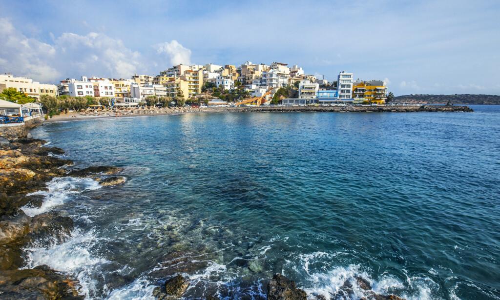 I ÅR?: Her på Agios Nikolaos, øst på Kreta i Hellas, kan nordmenn få dra fra 15. juli dersom myndighetene mener smittesituasjonen i landet er tilfredsstillende. Illustrasjonsfoto: Halvard Alvik / NTB scanpix