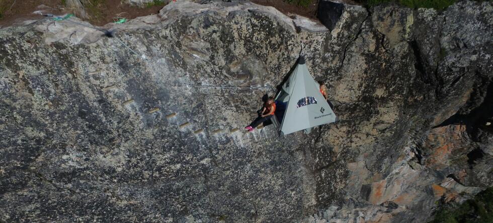 Her kan du sove i en fjellvegg