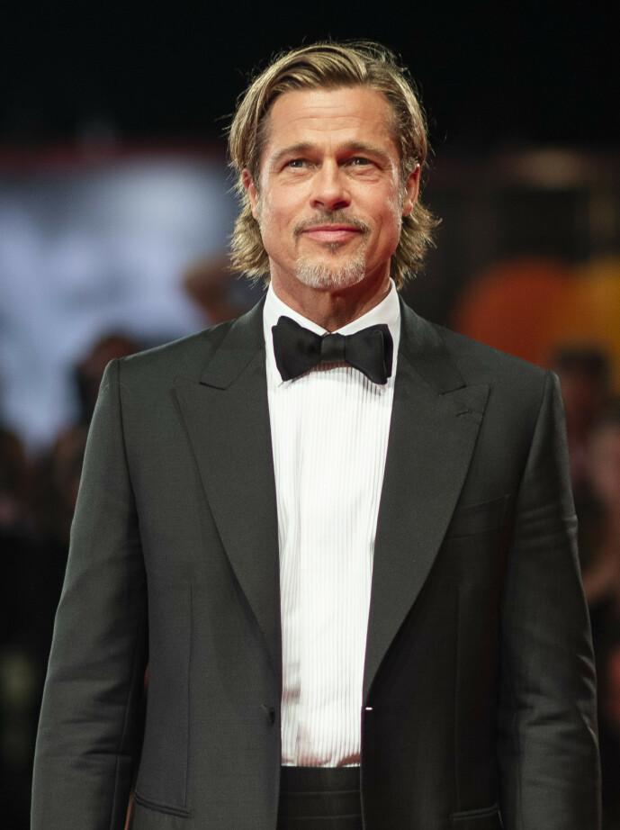 WILLIAM: Skuespillerens egentlige navn er William Bradley Pitt, som han selv endret til Brad Pitt da han ankom Los Angeles som tenåring. Foto: NTB Scanpix