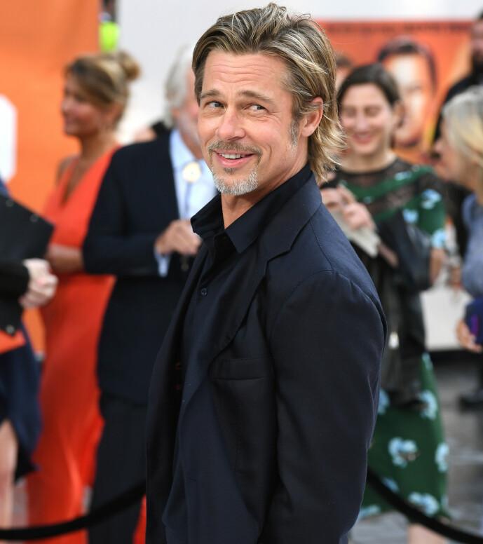 STORSJARMØR: Brad Pitt skal angivelig bruke sitt opprinnelige navn når han er på flørtern med andre damer. Foto: NTB Scanpix