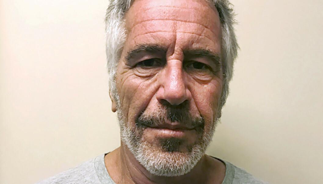 DØD: Maxwell har vært i skjul siden Jeffrey Epstein ble funnet død på cella i New York i fjor sommer. Foto: (New York State Sex Offender Registry via AP / NTB Scanpix