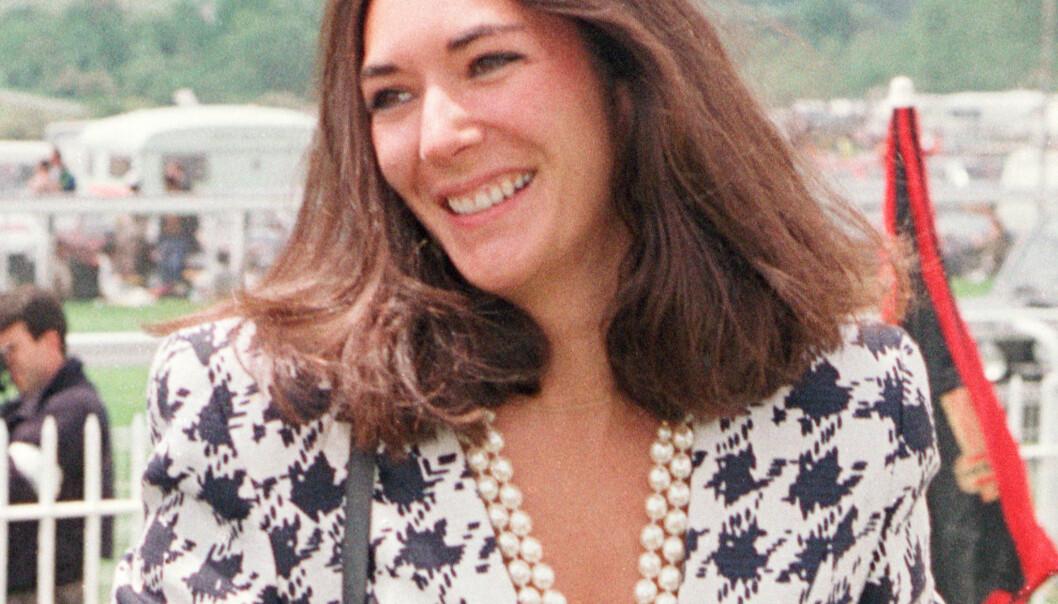 1991: Ghislaine Maxwell er siktet for blant annet å ha rekruttert mindreårige jenter til den nå avdøde milliardæren Epstein mellom 1994 og 1997. Her er hun avbildet i 1991. Foto: PA / NTB Scanpix