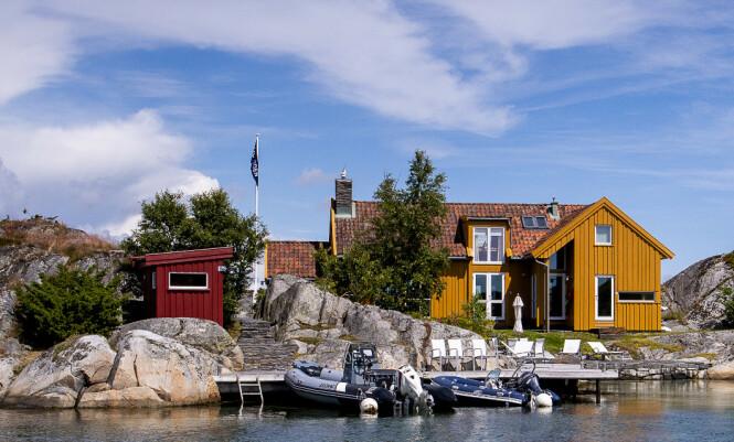 BLINDLEIA: Her er eiendommen Nicolai Tangen kjøpte for 6,75 mill i 2001. Foto: Lars Eivind Bones / Dagbladet.