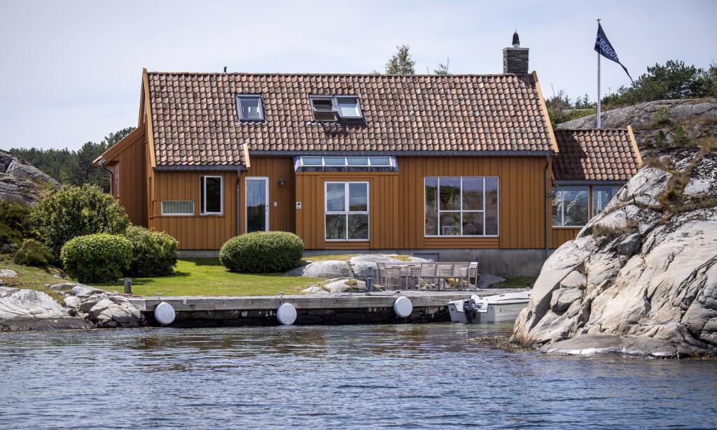 HYTTE: Denne hytta kjøpte milliardær Tangen allerede i 2001. Foto: Lars Eivind Bones / Dagbladet.