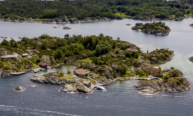 HYTTEPARADIS: Det er i hytteparadiset Blindleia at Nicolai Tangen eier to hytter. Foto: Lars Eivind Bones / Dagbladet.