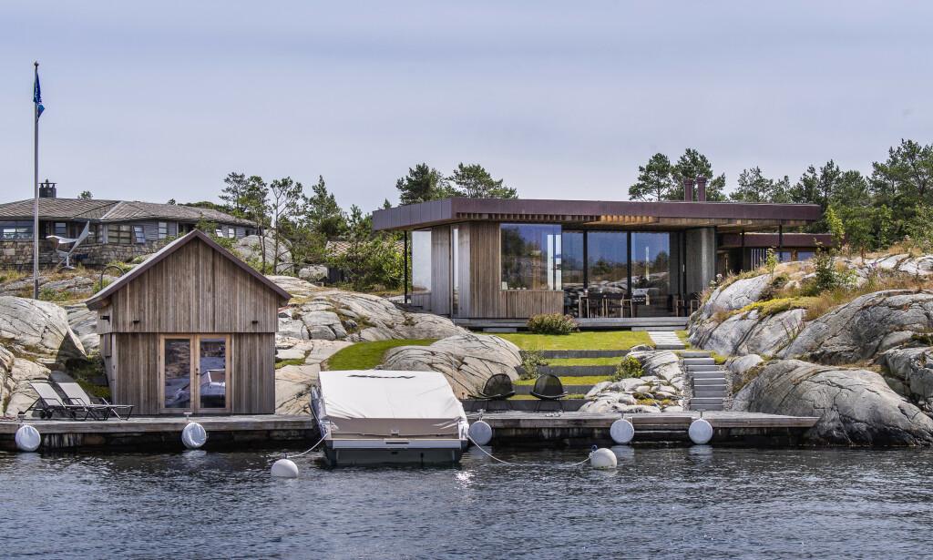 BLINDLEIA: Nicolai Tangen kjøpte i 2017 en eiendom i Blindleia til 20 millioner. Så rev han hytta, og i fjor sommer stod den ferdig. Foto: Lars Eivind Bones / Dagbladet.