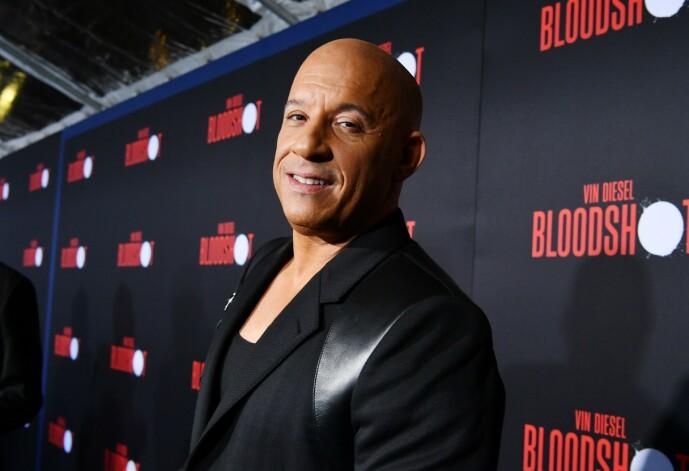 MYE ENERGI: Vin Diesel skal ha fått navnet Diesel av vennene sine, som alltid tøyset med at skuespilleren hadde mye energi. Foto: NTB Scanpix