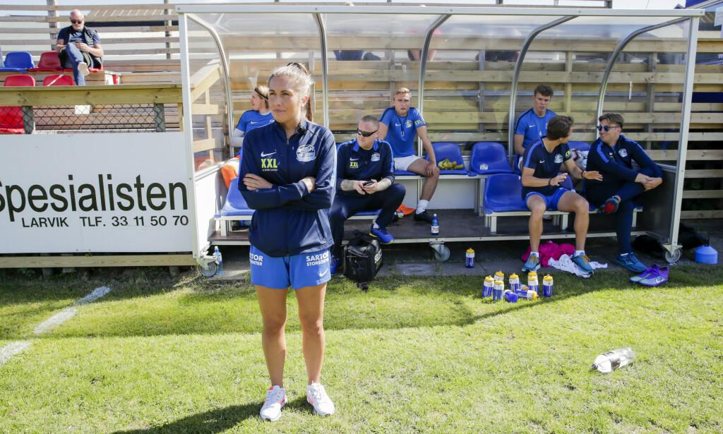 VANT: Renate Blindheim og Nest Sotra vant 3-2 over Fram Larvik. Foto: Vidar Ruud / NTB scanpix