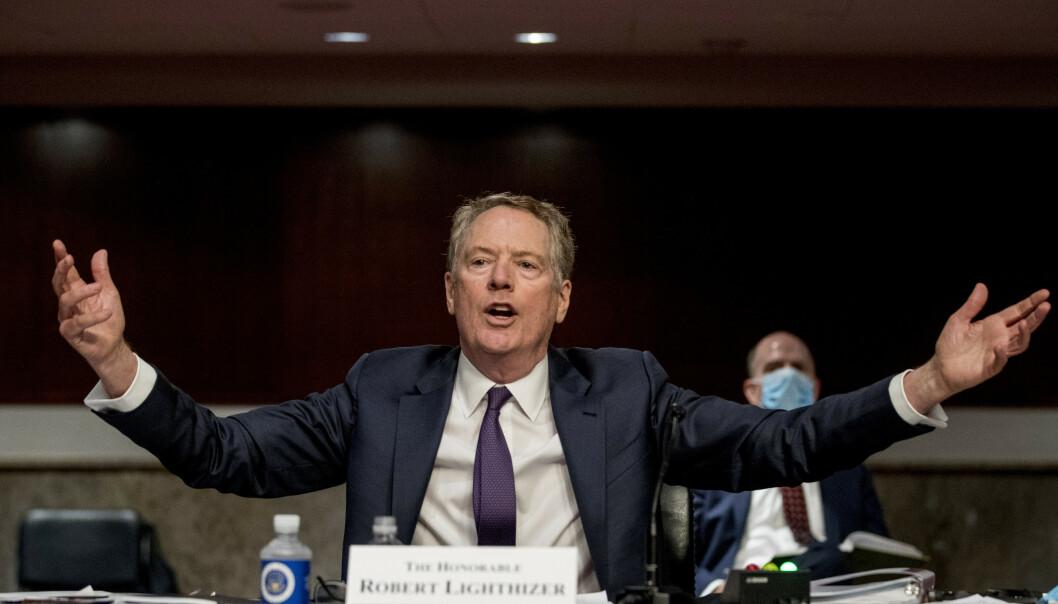 Robert Lighthizer er USAs handelsrepresentant. Foto: Andrew Harnik / AP / NTB scanpix