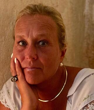 ENGASJERT: Christine Bennborn jobber med å spre informasjon om meningokokksykdom. Foto: Privat