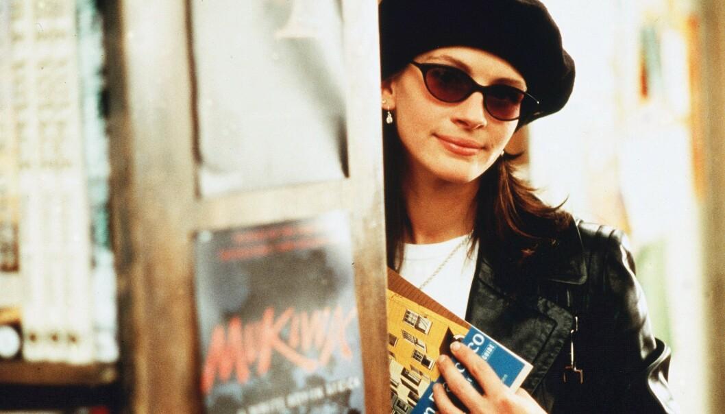 <strong>I SENTRUM:</strong> Julia Roberts spilte én av filmens to, sjarmerende hovedroller. FOTO: Scanpix