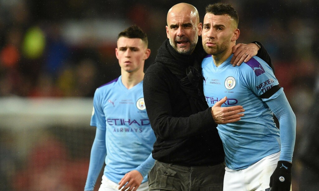 KAN PUSTE LETTET UT: Manchester City får spille i Champions League de neste to sesongene. Foto: Oli SCARFF / AFP / NTB Scanpix