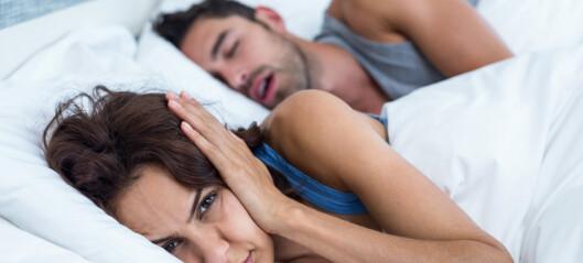 Lege: Denne metoden stopper snorking