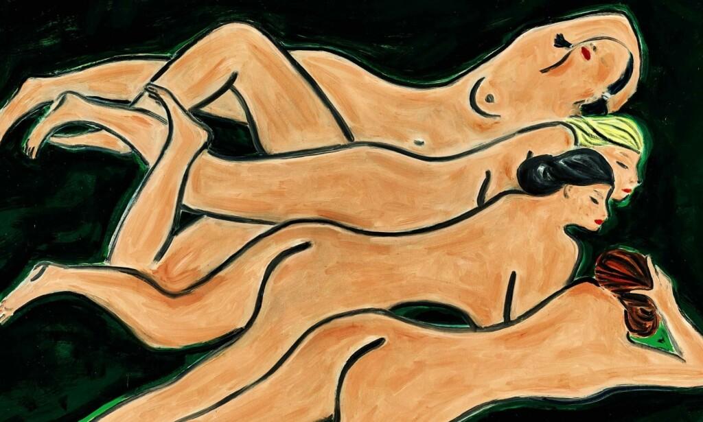 KINAS MATISSE: Forrige uke ble maleriet «Quatre Nus» solgt for svimlende 33 millioner dollar. Foto: Sotheby's.
