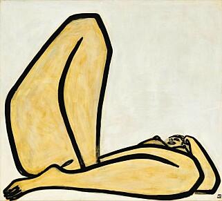 MILLIONER: Maleriet «Nu» solgte for over 25 millioner dollar i oktober i fjor. Foto: Sotheby's.
