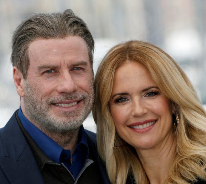 GIFT I 29 ÅR: John Travolta og Kelly Preston. FOTO: NTB SCANPIX
