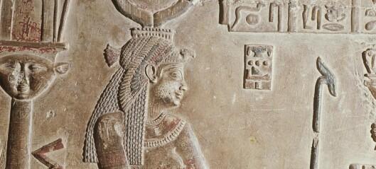 «Sensasjonelt» funn i jakten på Kleopatra