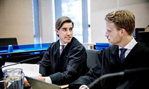 FORSVARER: Advokat Alexander Greaker (t.v.). Foto: Nina Hansen / Dagbladet