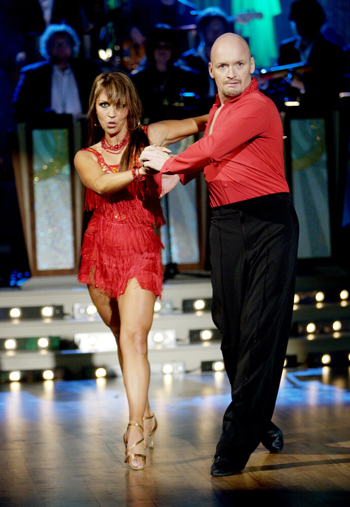 DANSET SAMMEN: Finn Christian Jagge og Therese Cleve danset sammen i 2007. Foto: NTB Scanpix
