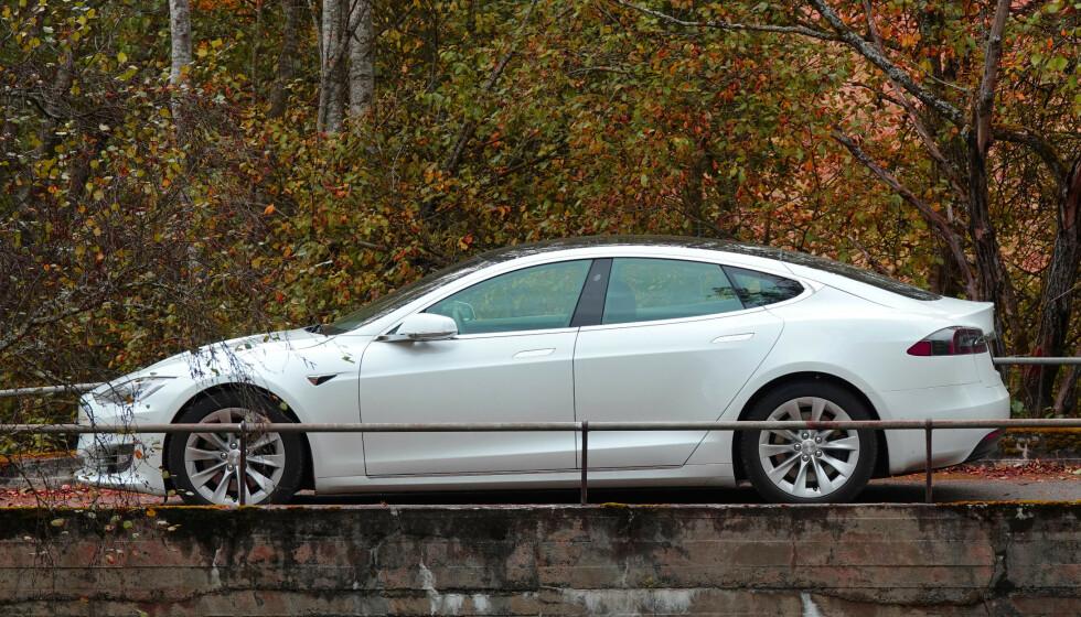 EVENTYRLIG VEKST: Tesla har den siste tiden opplevd en svimlende vekst i papirverdi på børsen. Foto: Fred Magne Skillebæk