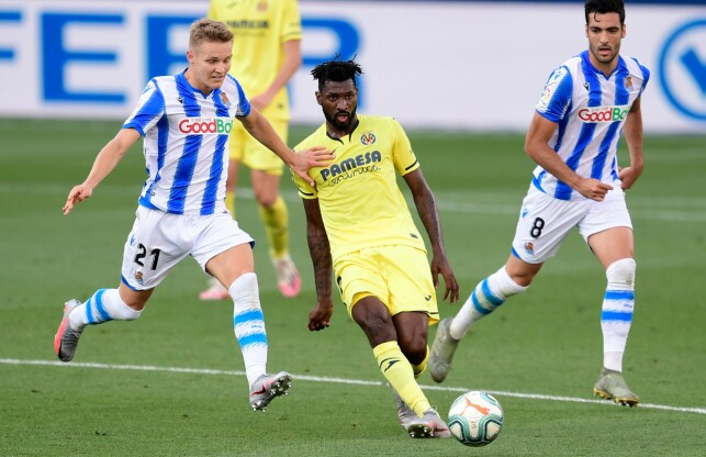 LEVERTE IGJEN: Martin Ødegaard viste gode takter mot Villarreal. Foto: NTB scanpix