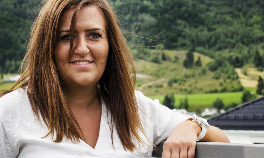 RØPER HEMMELIGHETEN: Astri Emile Ljosnes (29) avslører hvilke aksjer som har vist seg å være gullkantede investeringer for henne. Foto: Arthur Halseid