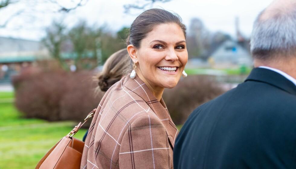 DYSLEKSI: Den svenske kronprinsessen lider av dysleksi, noe som har gjort ting vanskelig i oppveksten. Foto: NTB Scanpix
