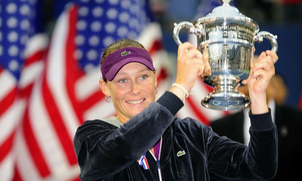 HØYDEPUNKT: Samantha Stosur vant US Open i 2011. Foto: NTB Scanpix