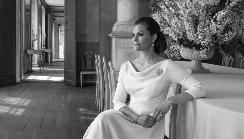43 ÅR GAMMEL: Svenske kronprinsesse Victoria fyller i dag 43 år, og skal føle seg bedre enn aldri før. Foto: Elisabeth Toll, Kungliga Hovstaterna